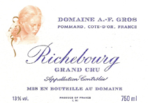 A-F Gros Richebourg Colour