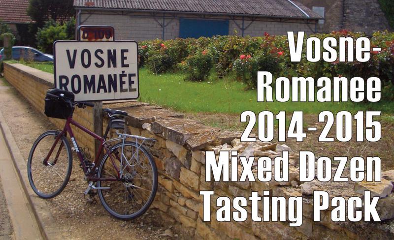 Vosne-Romanee 2014-2015 Dozen Header