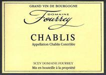 Fourrey Chablis Label