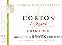 Arnoux Corton label