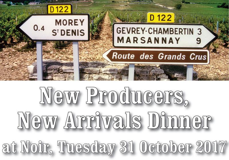 New Prodcuers new Arrivals Dinner Header