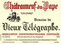 Vieux Telegraph label
