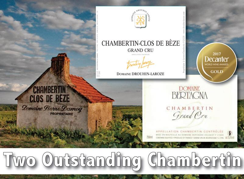 Two Outstanding Chambertin Header