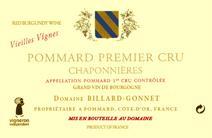 Billard-Gonnet Chaponnieres label