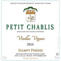 Dampt petit Chablis VV label