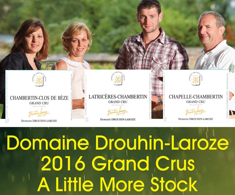 Drouhin-LAroze 2016 More Header