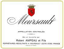 Ampeau Meursault label