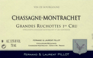 Pillot Grandes Ruchottes Label
