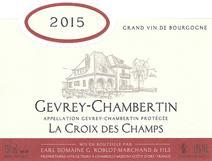Roblot-Marchand Croix Champs label