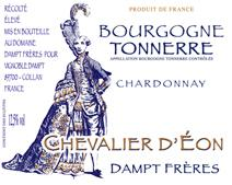 Dampt Bourgogne Chevalier NV label