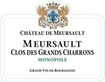Chateau Meursault Charrons Label