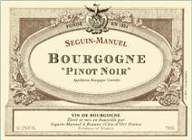 seguin-manuel bourgogne label