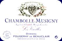 Fougeray Beauclair Chambolle label