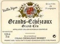Desaunay-Bissey Grands Echezeaux label