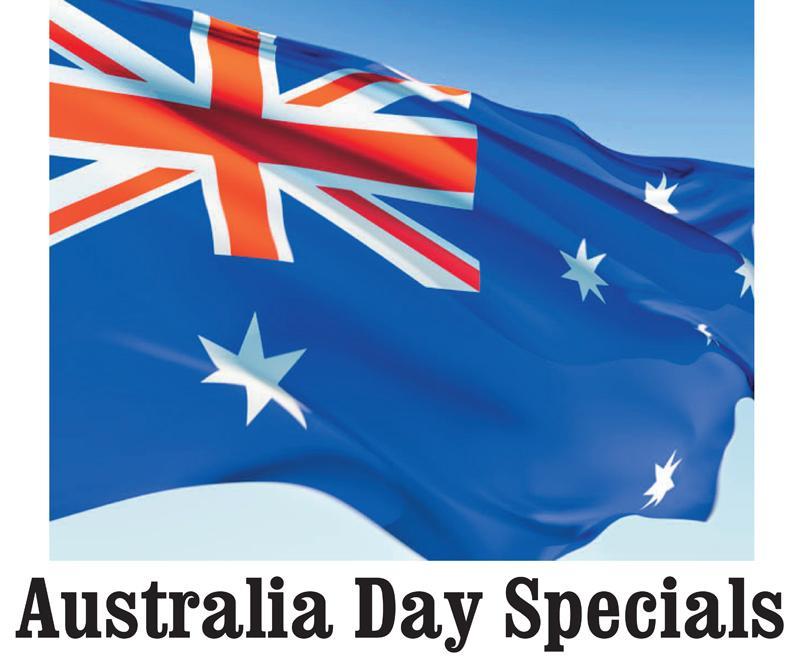 Australia Day Specials Header