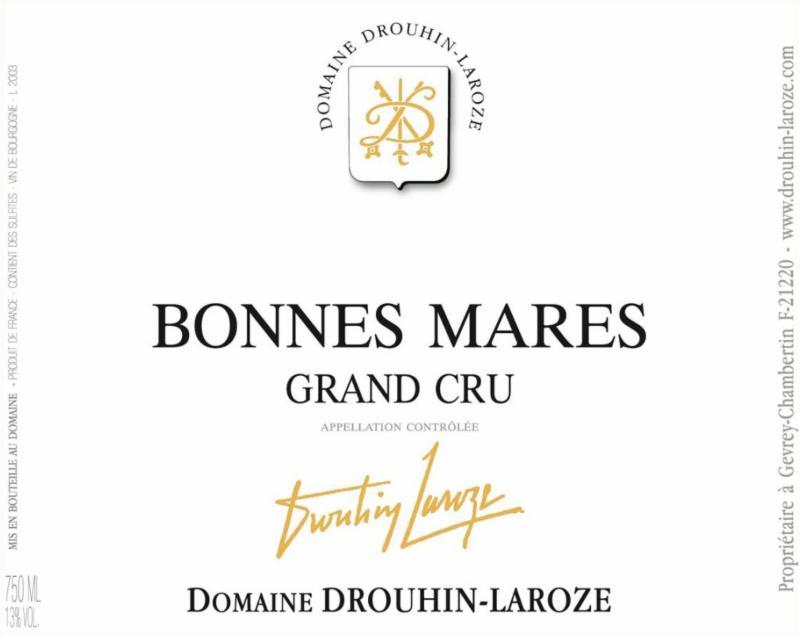 Drouhin-Laroze Bonnes-Mares label