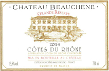 Beauchene 2014 CDR Label