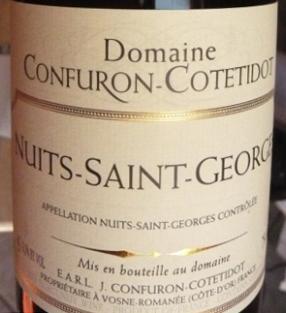 Confuron-Cotetidot Nuits