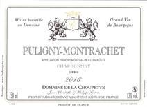 Choupette Puligny Villages label