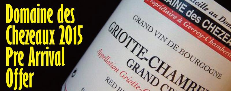 Domaine des Chezeaux 2015 Header