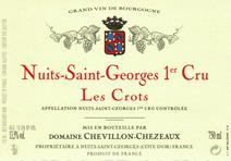 Chevillon-Chezeaux NSG Crots label