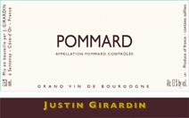 Girardin Pommard Label
