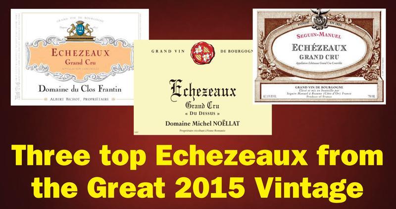 Echezeaux 2015 Header