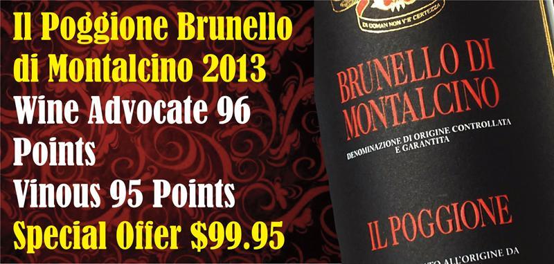 Poggione Brunello 2013  header
