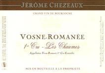 Chezeaux Chaumes