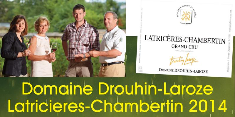 Drouhin-Laroze Latricieres 2014 Header