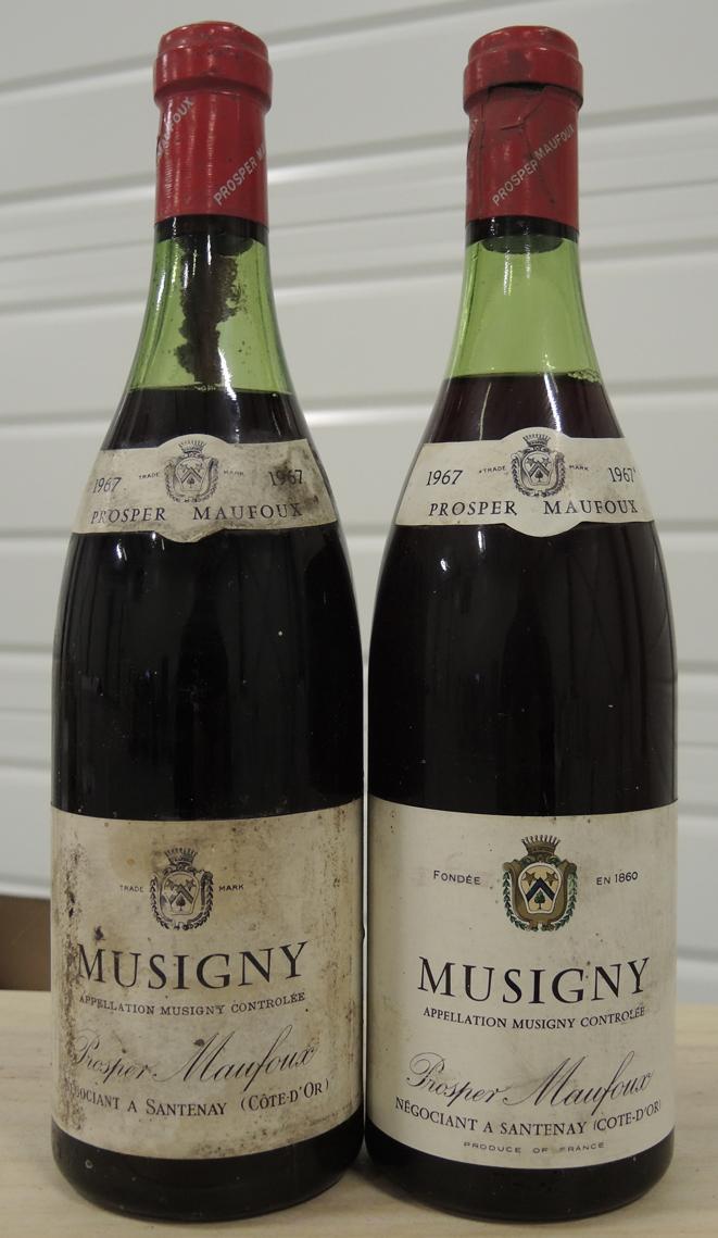 Prosper Mafoux Musigny 1967