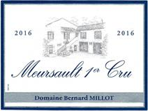 Millot 1er Cru 2016 Label