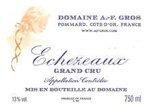 A-F Gros Echezeaux Label