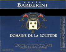 Solitude Barberini Label