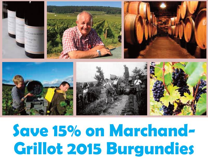 Marchand-Grillot 2015 Save 15% Header