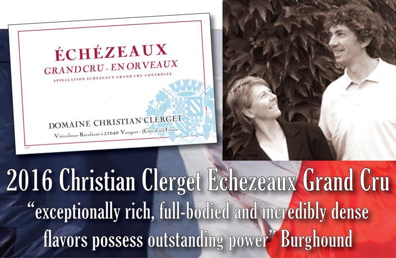 Clerget 2016 Echezeaux Header