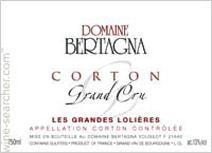 Bertagna Corton Label
