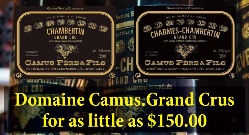 Camus Grand Crus Header