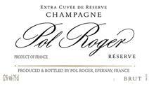 Pol Roger Brut NV label