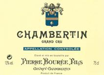Bouree Chambertin Label