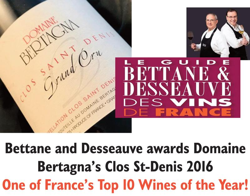 Bertagna Clos St-Denis 2016 Bettane Header