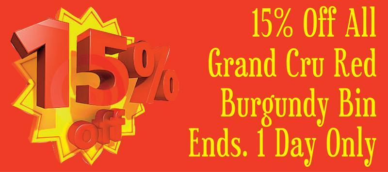 Bin Ends GC 15% Header