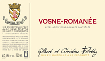Felettig Vosne Label