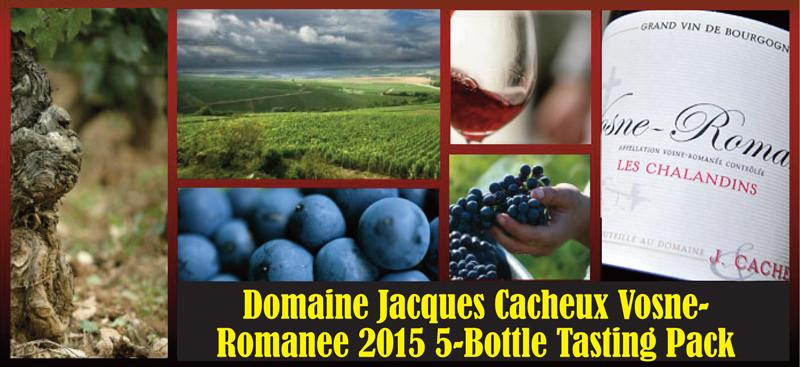 Cacheux Jacques 2015 Vosne 5-Bottle pack Header
