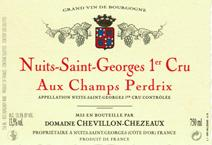 Chevillon-Chezeaux NSG Champs perdrix label