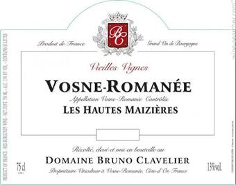 Clavelier V-R Mazieres Label