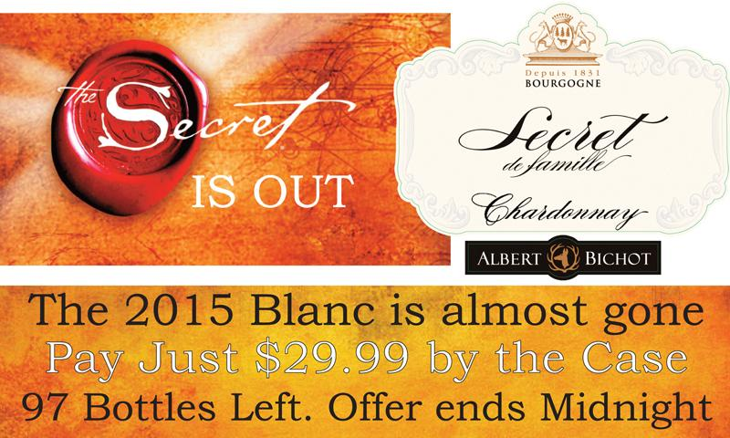 Bichot Secret Blanc 2015 Header