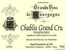 Gautherin Vaudesirs label