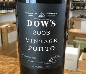 Dow 2003 label