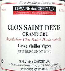 Chezeaux Denis Label